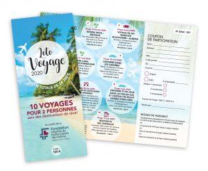 Portfolio-Dépliant-Loto voyage Fondation HNDF